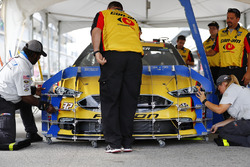 Patrick Carpentier, Go Green Racing Ford, car during inspection