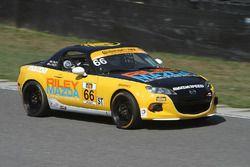 #66 Riley Racing Mazda MX-5: Jameson Riley, A.J. Riley