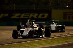 Nirei Fukuzumi, ART Grand Prix leads Ralph Boschung, Koiranen GP