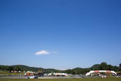 #9 Stevenson Motorsports Audi R8 LMS GT3: Matt Bell, Lawson Aschenbach; #6 Stevenson Motorsports Aud