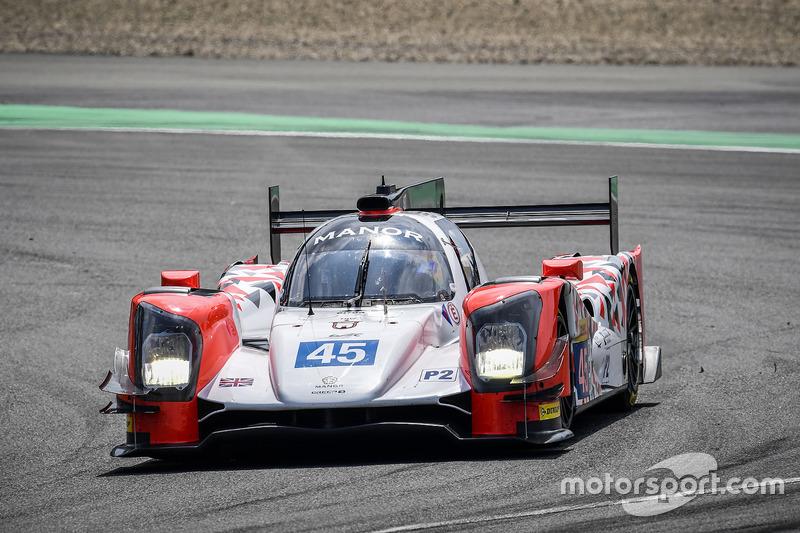 10. LMP2: #45 Manor, Oreca 05 - Nissan: Matthew Rao, Richard Bradley, Roberto Merhi