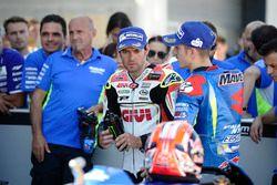 Maverick Viñales, Team Suzuki MotoGP and Cal Crutchlow, Team LCR Honda