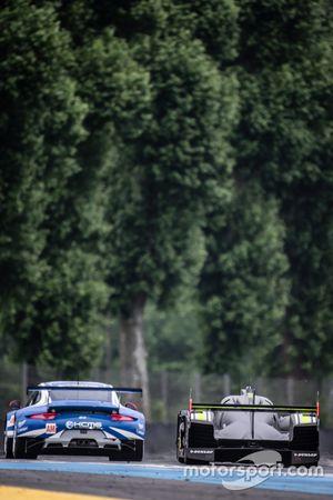 #78 KCMG Porsche 911 RSR: Christian Ried, Wolf Henzler, Joel Camathias, #4 ByKolles Racing CLM P1/01