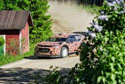 Крис Мик тестирует Citroën C3 WRC 2017
