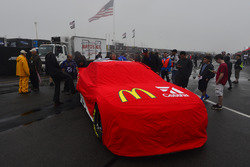 The car of Jamie McMurray, Chip Ganassi Racing Chevrolet