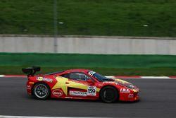 Zanardini-Sauto, Master-KR Racing ,Ferrari 458 Italia-GTCup #159