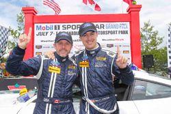 Yarış galibi #15 Multimatic Motorsports Mustang Boss 302R: Billy Johnson, Scott Maxwell