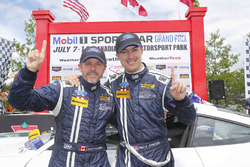 Ganador de la carrera #15 Multimatic Motorsports Mustang Boss 302R: Billy Johnson, Scott Maxwell