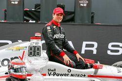 Le vainqueur Will Power, Team Penske Chevrolet