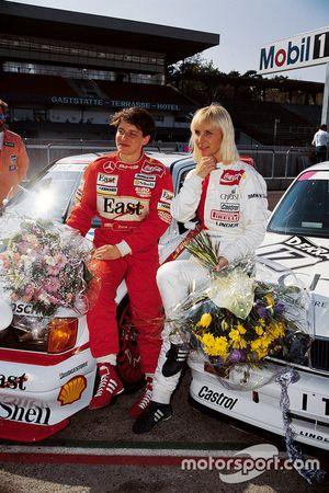 Эллен Лор, Mercedes, и Аннетт Меувиссен, BMW