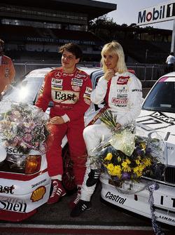 Ellen Lohr, Mercedes, und Annette Meeuvissen, BMW