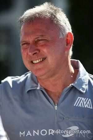 Dave Ryan, directeur de course de Manor Racing