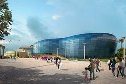 Aquarium of the Pacific's Pacific Visions wing design