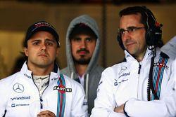Felipe Massa, Williams con Dave Robson, Williams Ingeniero de carrera