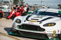 The car of #98 Aston Martin Racing Aston Martin Vantage GT3: Paul Dalla Lana, Pedro Lamy, Mathias La