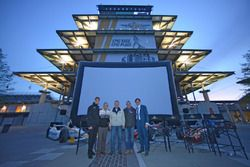 Bobby Unser joins Matt Brabham, Doug Boles and film director David Anspaugh for a screening of the f