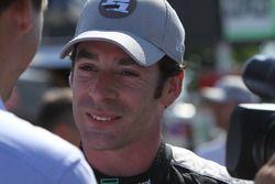Pole winner Simon Pagenaud, Team Penske Chevrolet