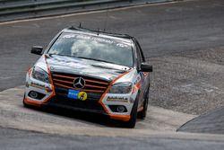 #161 Team Autoarena Motorsport, Mercedes-Benz C 230: Patrick Assenheimer, Marc Marbach, Werner Gusenbauer