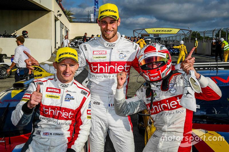 Race winners #46 Thiriet by TDS Racing Oreca 05 - Nissan: Pierre Thiriet, Mathias Beche, Mike Conway