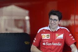Mattia Binotto, Race Engine Manager Ferrari