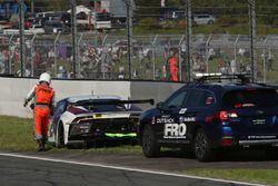 #88 JLOC Lamborghini GT3: Kimiya Sato, Kazuki Hiramine retired from the race