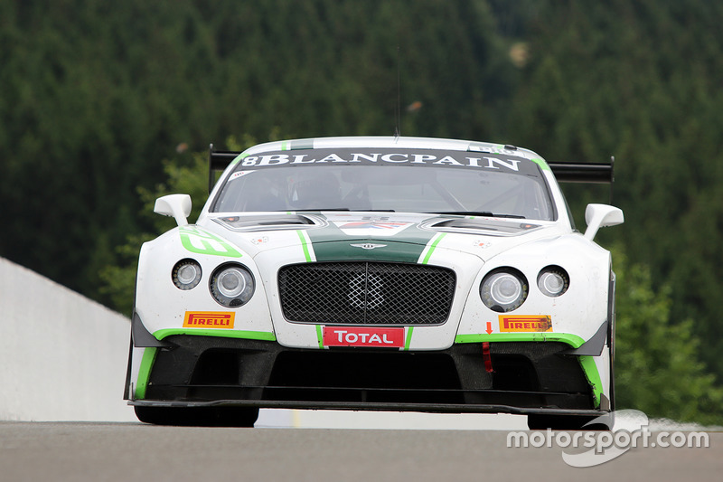 4. #8 Bentley Team M-Sport, Bentley Continental GT3