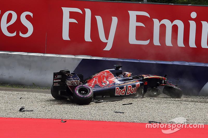 10. Daniil Kvyat, Scuderia Toro Rosso (GP de Austria)