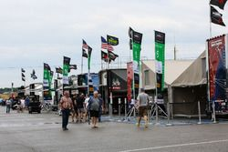 Fahrerlager im Canadian Tire Motorsport Park, Mosport