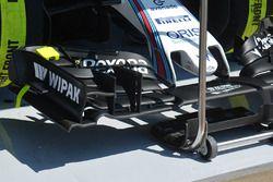 L'aileron avant de Valtteri Bottas, Williams F1 Team