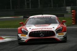#91 Zakspeed, Mercedes-AMG GT3: Jean Frédéric Laberge, Alex Tagliani, Darryl O'Young