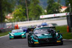 #57 AMG-Team Black Falcon, Mercedes-AMG GT3: Hubert Haupt, Adam Christodoulou, Andreas Simonsen