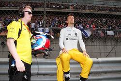Jolyon Palmer, Renault Sport F1 Team sur la grille