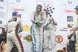 Podium: Dominik Farnbacher, Mario Farnbacher, Farnbacher Racing, Lexus RC F GT Prototype