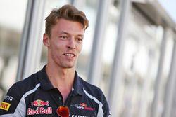 Daniil Kvyat (RUS) Scuderia Toro Rosso
