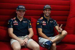 Daniel Ricciardo et Max Verstappen, Red Bull Racing