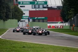Lance Stroll, Prema Powerteam Dallara F312 – Mercedes-Benz leads