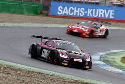 #44 Aust Motorsport, Audi R8 LMS: Mikaela Åhlin-Kottulinsky, Pierre Kaffer