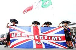 Mexican Lewis Hamilton, Mercedes AMG F1 fans