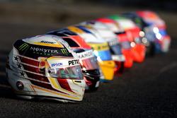 Caschi Bell: Lewis Hamilton, Mercedes AMG F1 Team