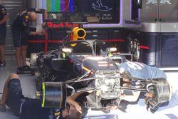 Cabina con el Halo, Daniel Ricciardo, Red Bull Racing RB12