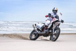 CS Santosh, Hero MotoSports Team Rally en la Playa Kutch Mandvi