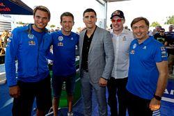 Andreas Mikkelsen, Sébastien Ogier, Marco Huck, bokser, Jari-Matti Latvala, Jost Caputo, Volkswagen
