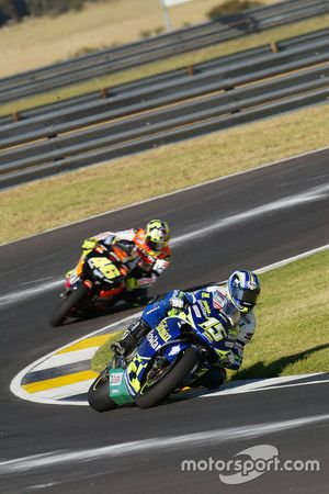 Sete Gibernau, Telefónica Movistar Honda; Valentino Rossi, Repsol Honda Team