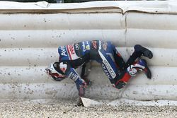 Loris Baz, Avintia Racing crash