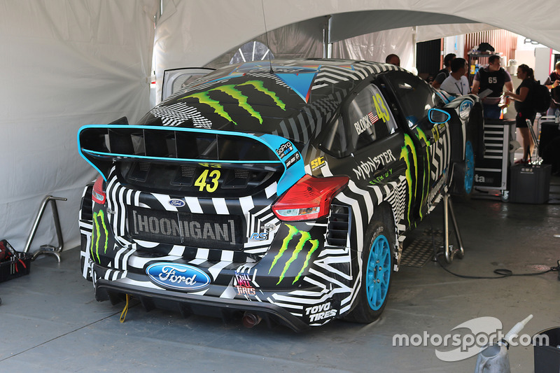 Hoonigan Racing Division Ford detalle