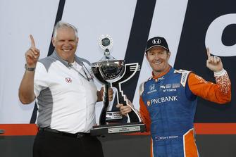 IndyCar-Champion 2018: Scott Dixon, Chip Ganassi Racing Honda, mit Art St. Cyr, Honda