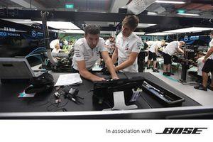 Bose, Mercedes AMG F1 takım elemanı