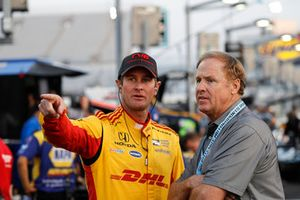 Ryan Hunter-Reay, Andretti Autosport Honda, Rusty Wallace