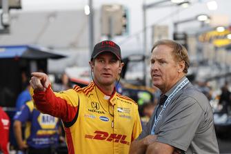 Ryan Hunter-Reay, Andretti Autosport Honda, Rusty Wallace