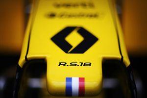 Renault Sport F1 Team R.S. 18 nose